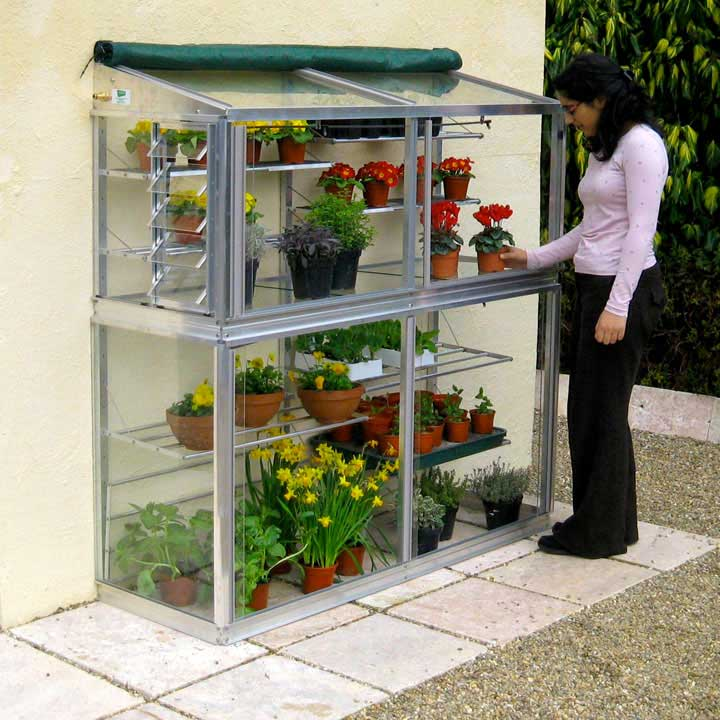 Deluxe 5' Harewood Midi Growhouse