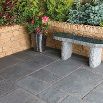 Thinking of redesigning or even updating the design of your garden then this Minster Paving Random Patio Kit is ideal. The beautiful slabs are made fr