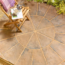 Minster Circle Squaring Off Kit - 1.8m Autumn Brown
