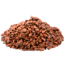 Red Chippings - Bulk