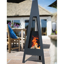 Delta Contemporary Chimenea