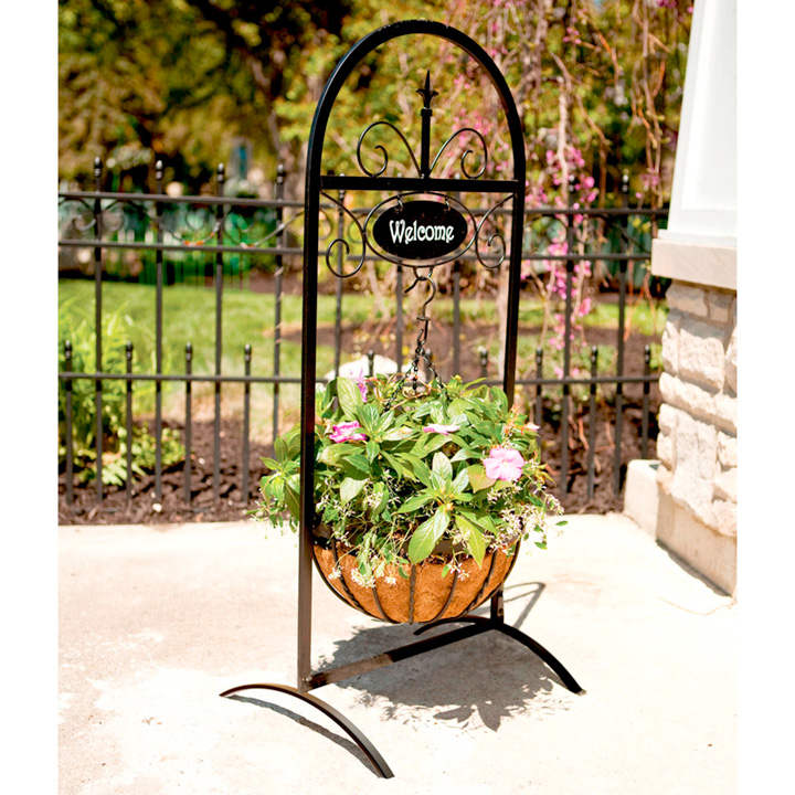 Welcome Basket Stand