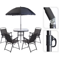 Patio Furniture Set - Grey