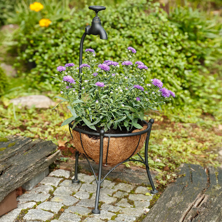 Tap Flower Basket