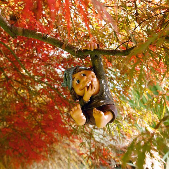 Tree Hanging Gnome