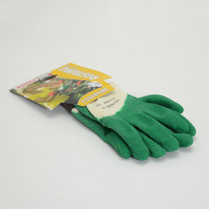 Gardening Gloves - Essential Latex Rose Green Size 6