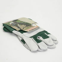 Gardening Gloves - Heavy Duty Premium Cotton / Leather Size 9
