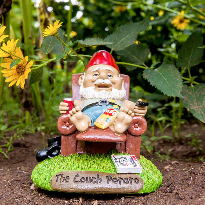 The Couch Potato Gnome
