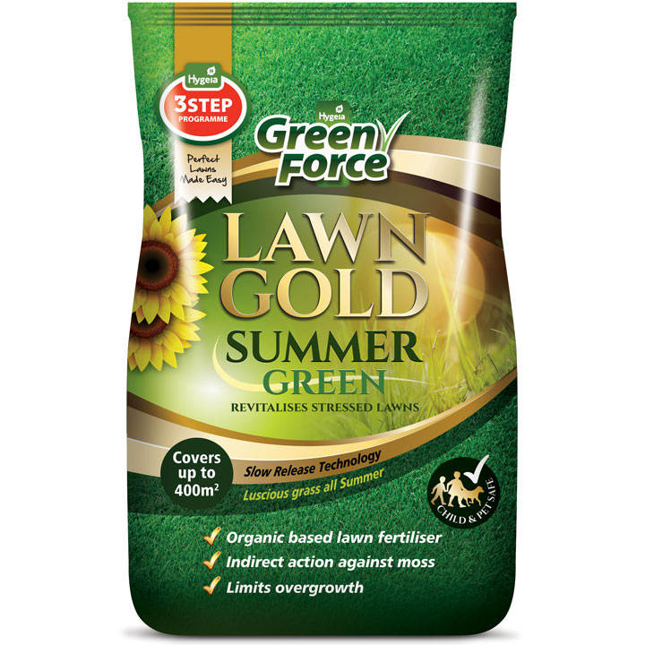 Greenforce Lawn Gold - Summer Green 400m²