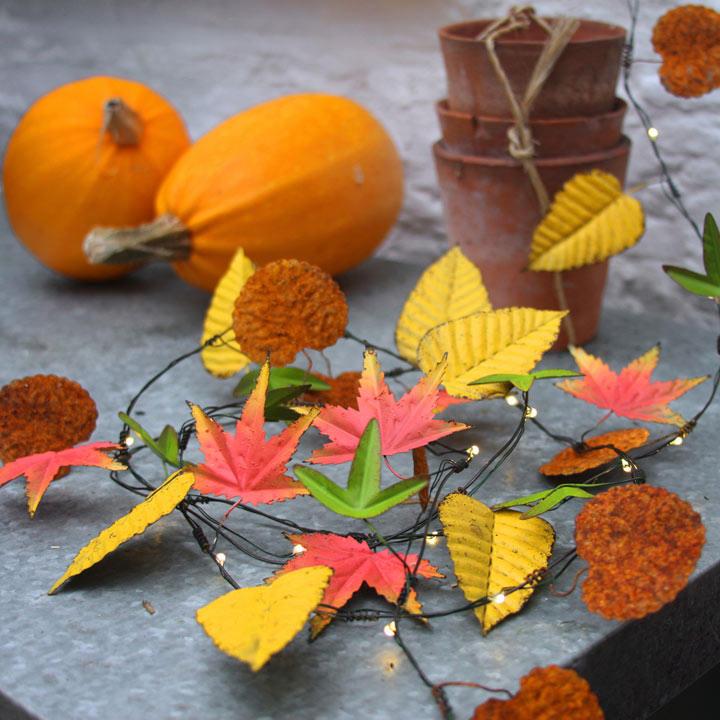 Autumn Leaves Lights