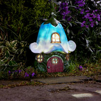 Solar Fairy House - Bluebell Cottage