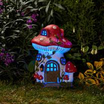 Solar Fairy House - Mushroom