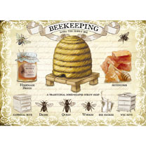 Beekeeping Metal Sign