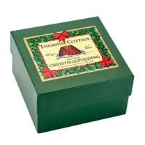 Boxed Christmas Pudding