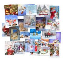 PDSA 'One of Each' Christmas Cards