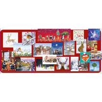 PDSA Bargain Pack Christmas Cards - Pack of 80