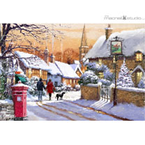 Village Christmas Cards