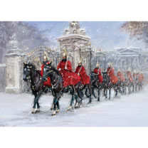 Horseguards at Christmas Cards