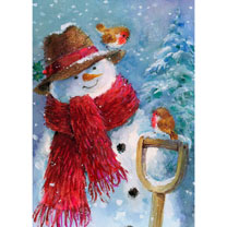 Jolly Snowman Cards