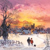 Winter Walk Cards