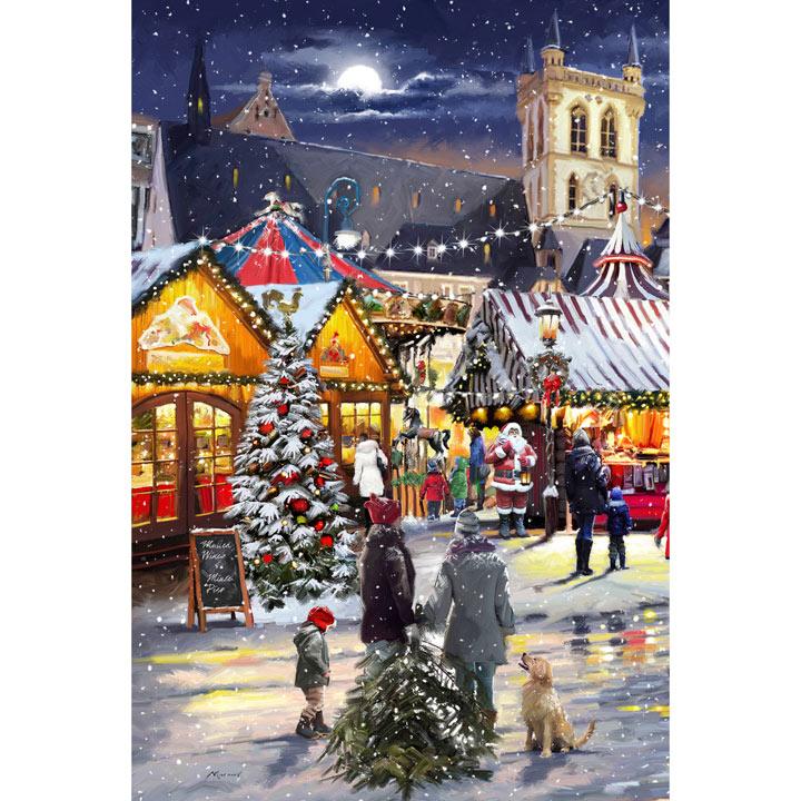 Christmas Market Cards