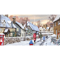 Snowy Lane Cards