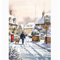 Festive Village Cards