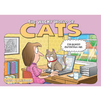 Wall Calendar - The Wacky World of Cats