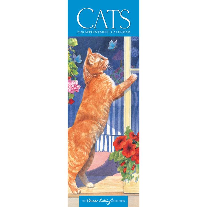 Slimline Calendar - Chrissie Snelling Cats