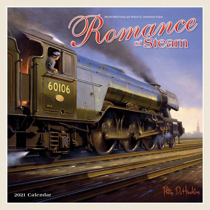 Wall Calendar - Romance of Steam