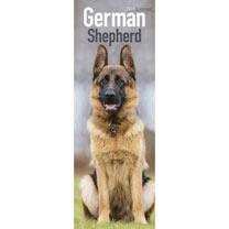 Slimline Calendar - German Shepherd