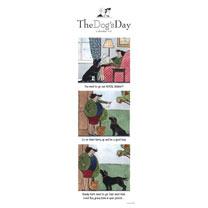 Slimline Calendar - The Dog's Day