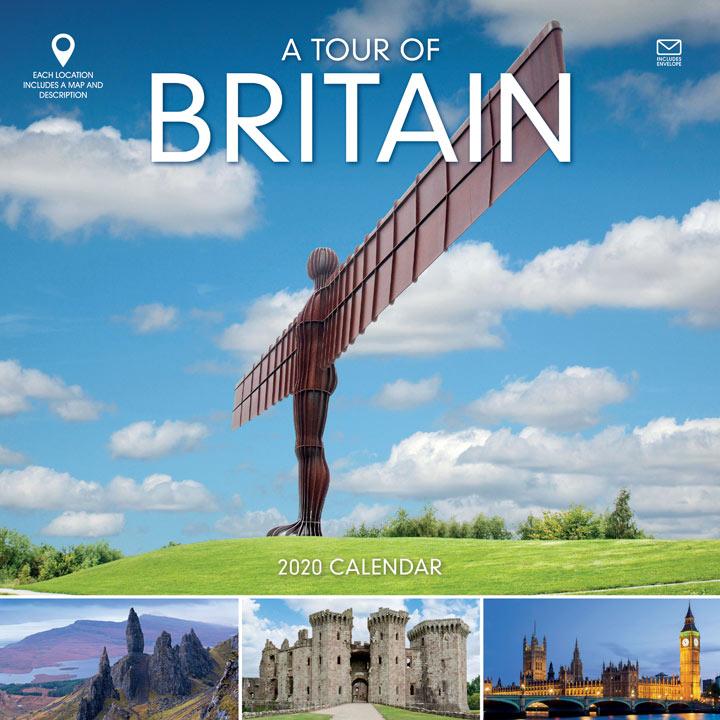 Wiro Calendar - A Tour of Britain