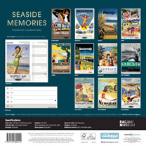 Wiro Calendar - Seaside Memories