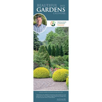 Slimline Calendar - Beautiful Gardens