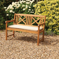 Hardwood Bench - Natural