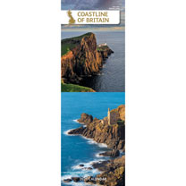 Slimline Calendar - Coastline of Britain