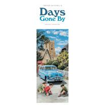 Slimline Calendar - Days Gone by