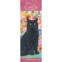 Slimline Calendar - Anne Mortimer Cats