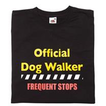 T-Shirt Official Dog Walker