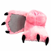 Pink Paw Slippers