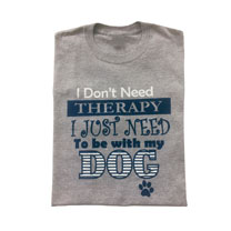 T-shirt Dog Therapy