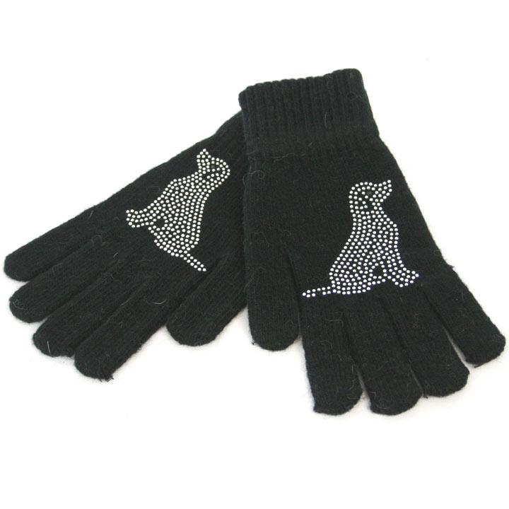 Gloves - Black Dog