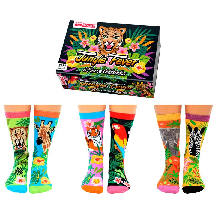 Jungle Fever Odd Socks