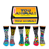 You Animal Odd Socks