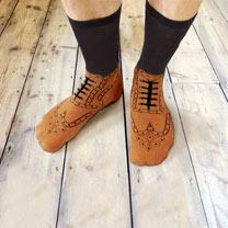 Socks - Brogue / Flip Flop