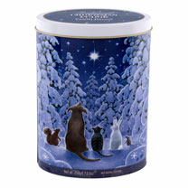 Star Gazing / Tree of Gifts Tin of Fudge