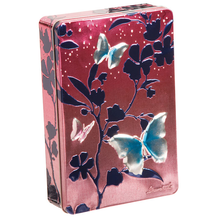 Butterfly Biscuit Tin