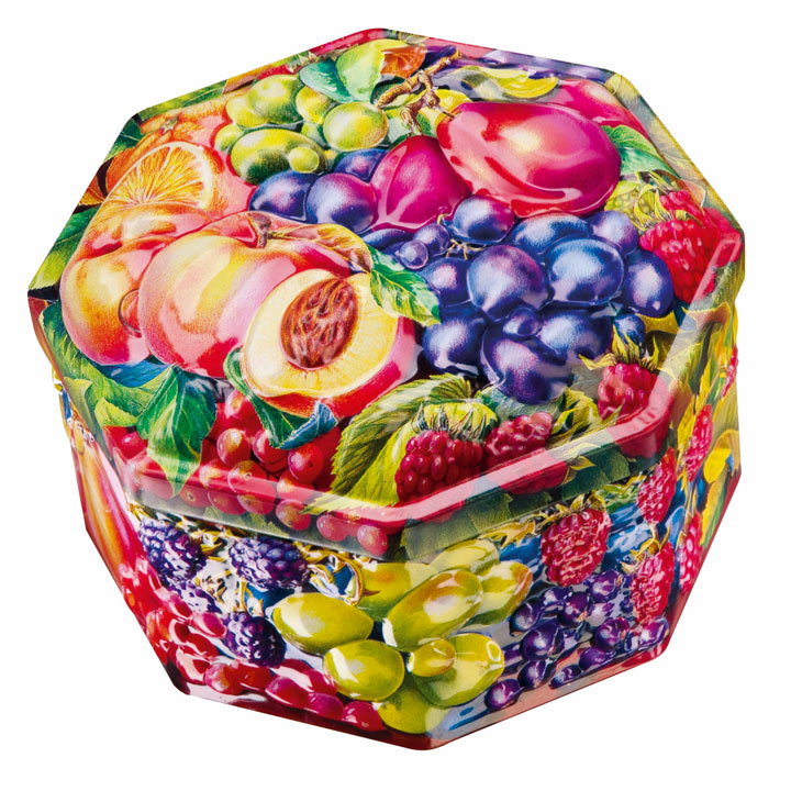 Orchard Fruits Tin