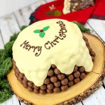 Personalised Maltesers & Chocolate Orange Pudding